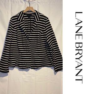 Lane Bryant Women's Size 22 Blazer Jacket Stretch